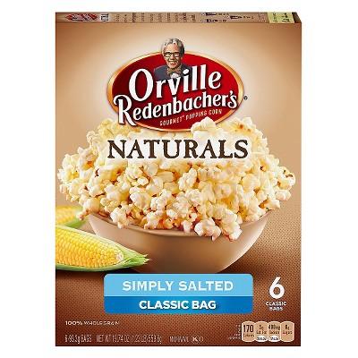 Microwave Popcorn: Orville Redenbacher's Naturals