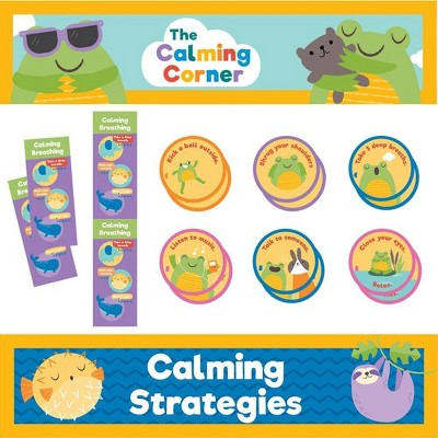 Carson Dellosa 69pc Calming Strategies Instructional Set