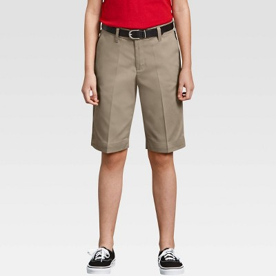 Dickies® Girls' Classic Stretch Bermuda Shorts
