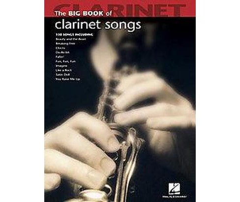 Big Book of Clarinet Songs (Paperback) - image 1 of 1