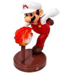Super Mario Fire Mario 2-Inch PVC Figure Loose