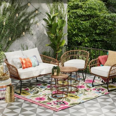 Southport 5pc Patio Conversation Set - Linen - Opalhouse™