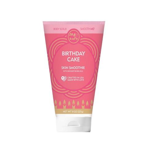 ME Bath Birthday Cake Smoothie Body Scrubs