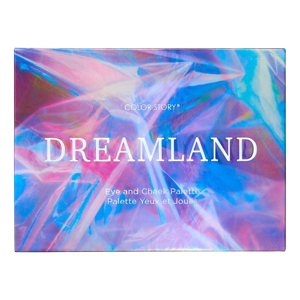 Image of Color Story Holiday Dreamland Eye and Cheek Palette