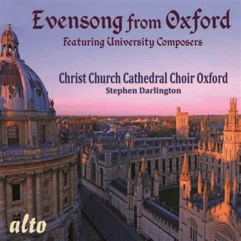 Christ Church Cathed - Evensong From Oxford (CD) - image 1 of 1