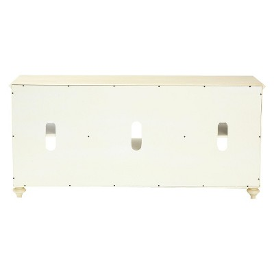 'Coventry TV Stand - Antique White 52'' -Aiden Lane'