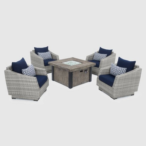Cannes 5pc Fire Chat Set - RST Brands - image 1 of 4