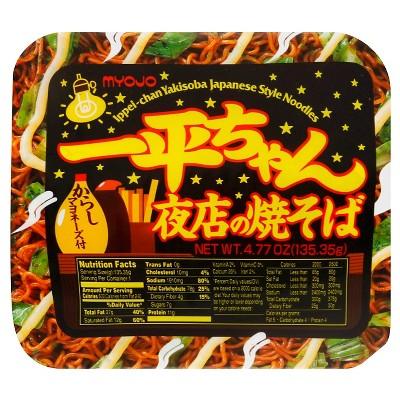 Myojo Yakisoba Noodles - 4.77oz