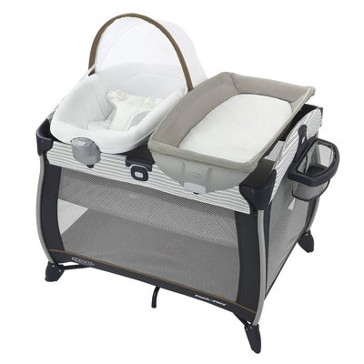 Graco Pack 'n Play Quick Connect Playard with Portable Seat- Britton