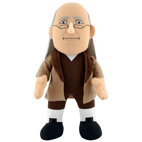 "USA President Ben Franklin 10"" Plush - image 1 of 2"