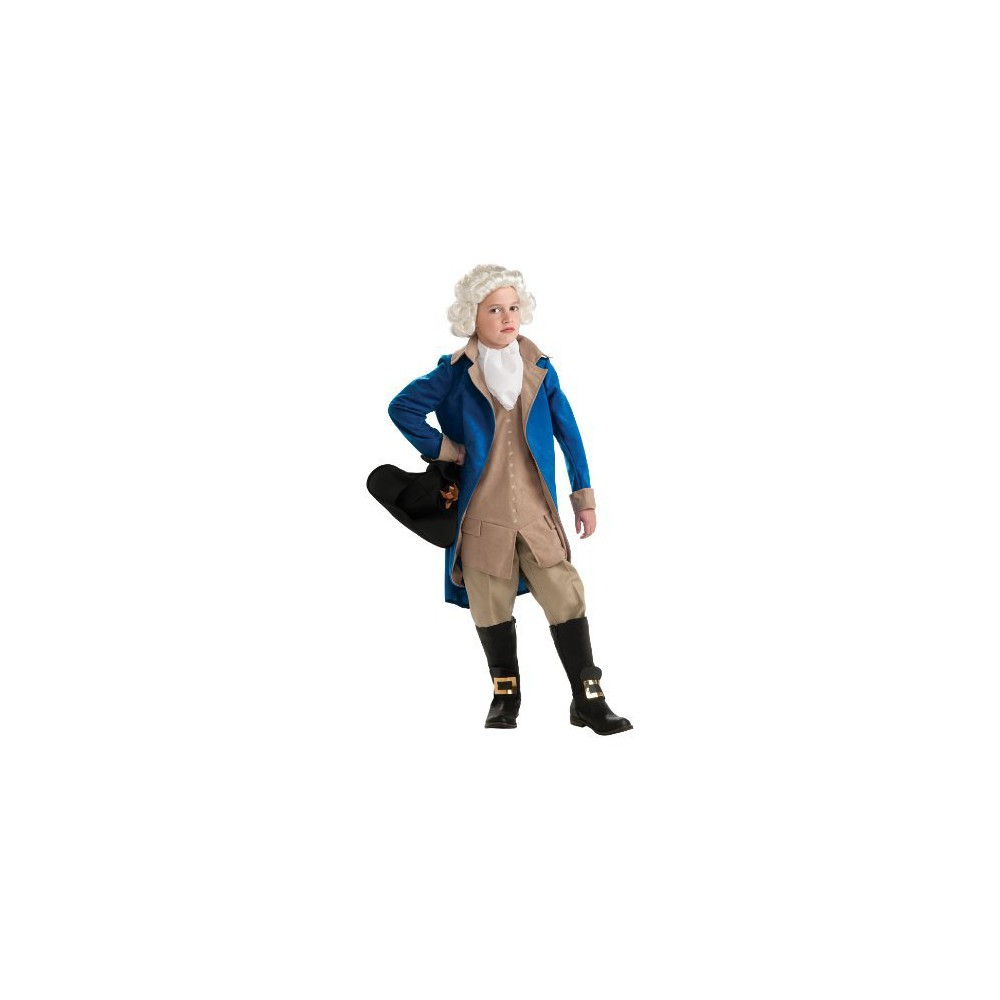 Kids' George Washington Costume  (7-8)
