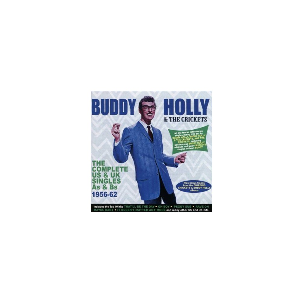 Buddy Holly - Complete Us & Uk Singles As & Bs:56-6 (CD)