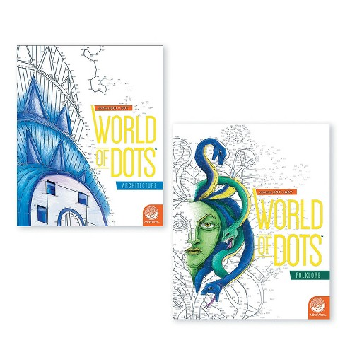 MindWare Extreme Dot To Dot World Of Dots: Set Of 2 - Brainteasers - image 1 of 4