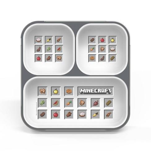 Minecraft 27oz Plastic Ultra Slim Bento Box - Zak Designs - image 1 of 3