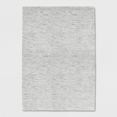 Ivory Chunky Braided Wool Rug 5'x7' - Project 62™