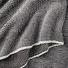 Chunky Knit Striped Throw Blanket Charcoal/White - Hearth & Hand™ with Magnolia - image 3 of 3