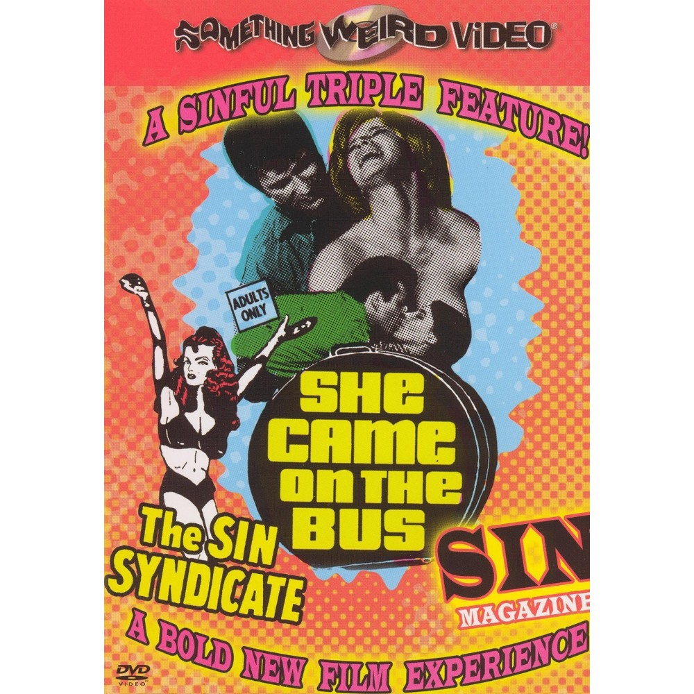 Sin Syndicate/Sin Magazine/She Came O (Dvd)