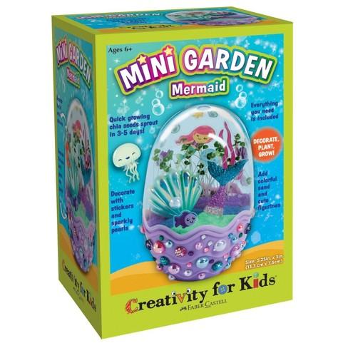 Creativity For Kids Mini Garden Mermaid Craft Kit - image 1 of 4