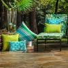 2pk Lanova Peacock Rectangular Throw Pillows Blue - Pillow Perfect - image 3 of 4