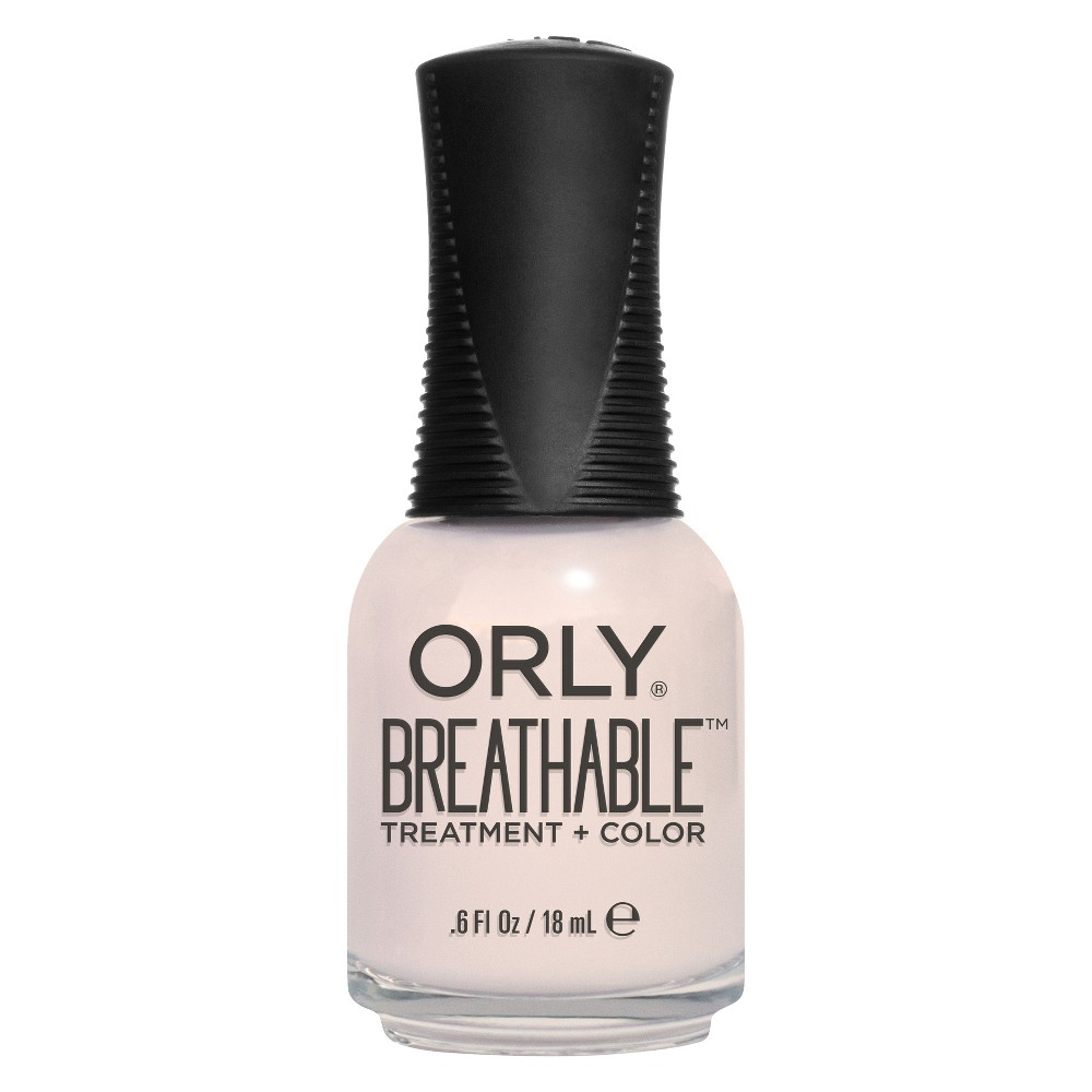 Image of ORLY Breathable Treatment + Color Nail Polish Barely There - 0.6 fl oz