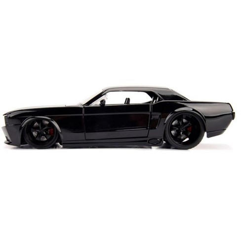 1965 Ford Mustang Black With Matte Black Stripes 1 Target