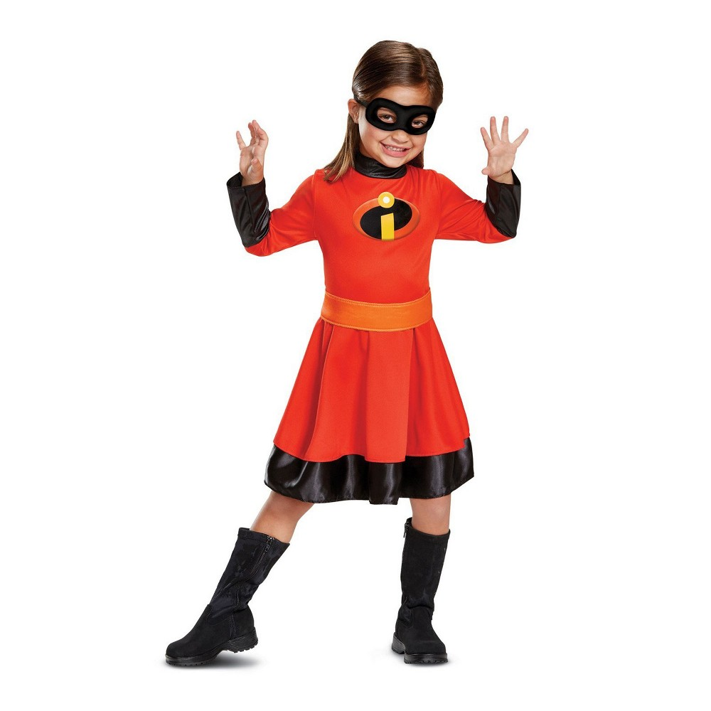 Incredibles 2 Toddler Girls' Violet Parr Halloween Costume 3T-4T - Disguise, Red
