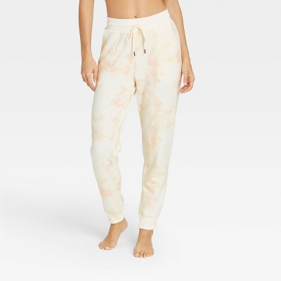 Women's Tie-Dye Soft Fleece Lounge Jogger Pants - Stars Above™