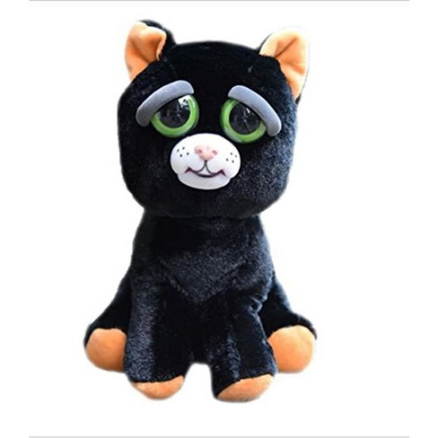 Feisty Pets Katy Cobweb Black Cat 8 Plush Target