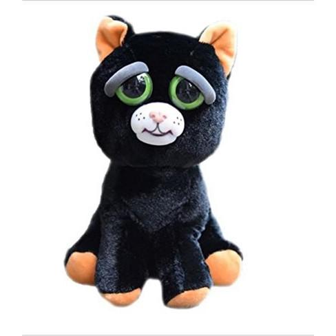 Feisty Pets Katy Cobweb Black Cat 8 Plush Target