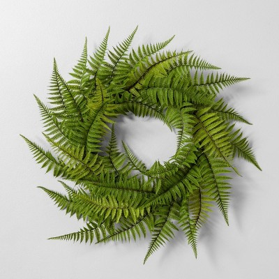 24  Faux Fern Wreath - Hearth & Hand™ with Magnolia