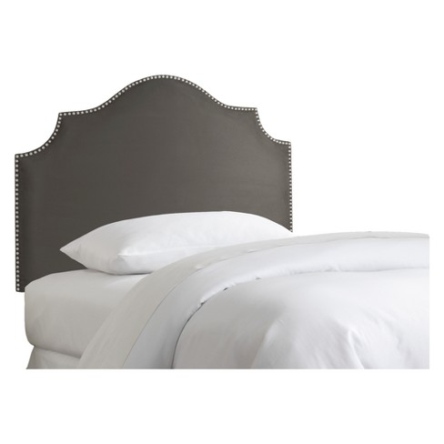 Kids Nail Button Notched Headboard - Skyline Furniture - image 1 of 2