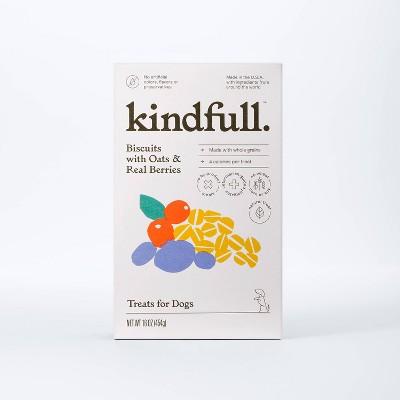 Real Biscuit Dog Treats - 16oz - Kindfull™