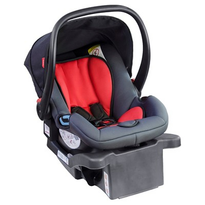 phil&teds® Alpha Infant Car Seat - Black/Red