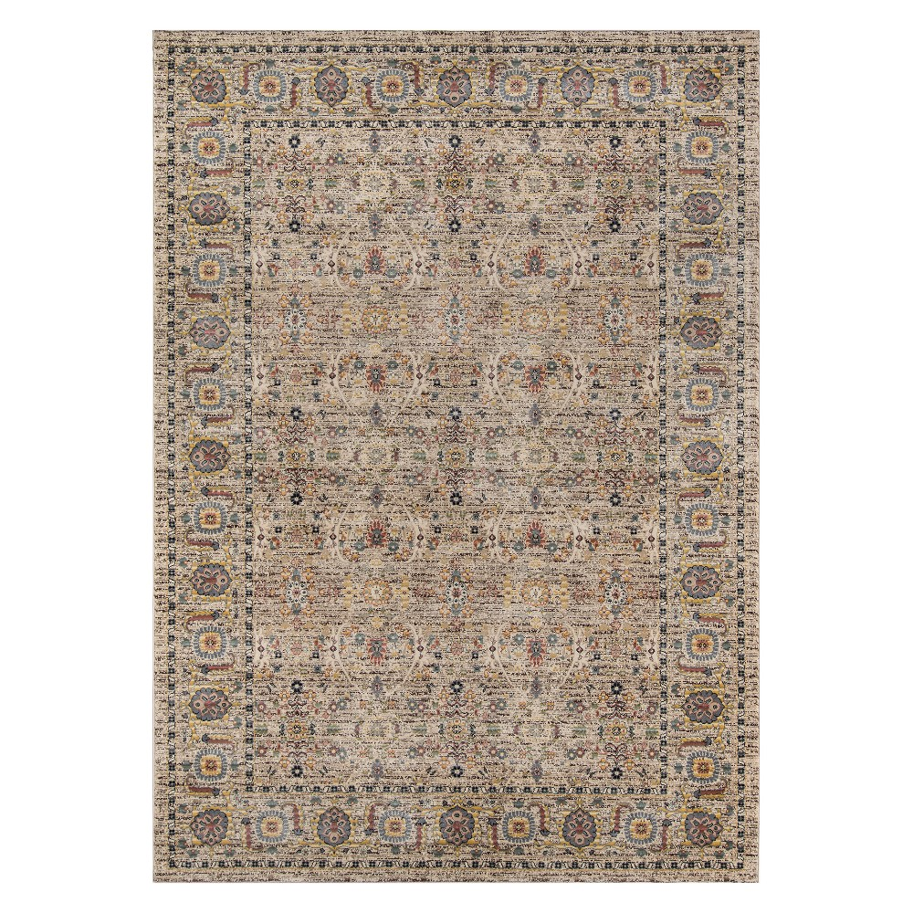"Image of ""2'3""""X3'9"""" Tribal Design Loomed Accent Rug - Momeni"""