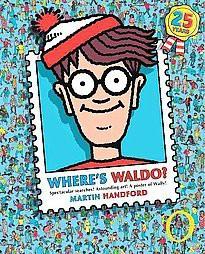 Where's Waldo? ( Wheres Waldo) (Deluxe / Anniversary) (Hardcover) - by Martin Handford