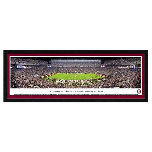 NCAA Blakeway Football Stadium View Framed Wall Art - Select Frame - image 1 of 1