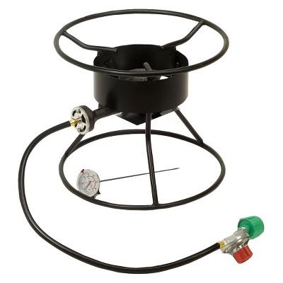 "King Kooker Welded 12"" High Pressure Portable Propane Outdoor Cooker Model 86 PKT"