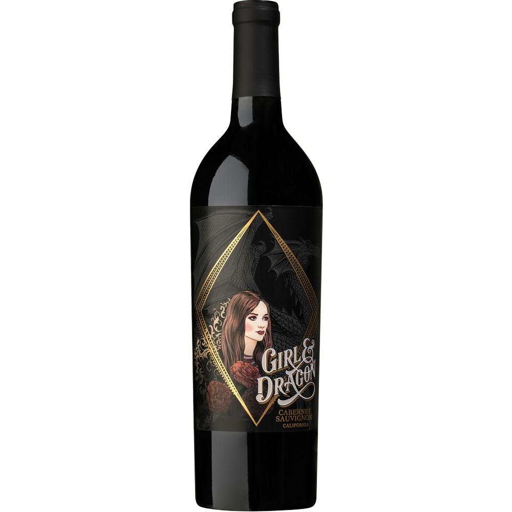 Image of Girl & Dragon Cabernet Sauvignon Red Wine - 750ml Bottle