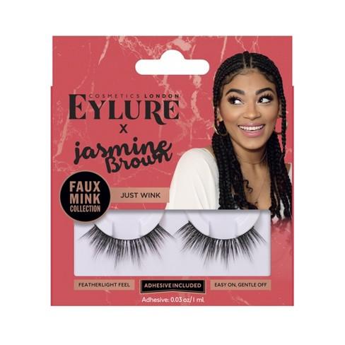 671c76b5ce4 Eylure False Eyelashes Jasmine JustWink Mink - 1pr : Target