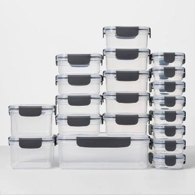 40pc Plastic Food Storage Set - Made By Design™