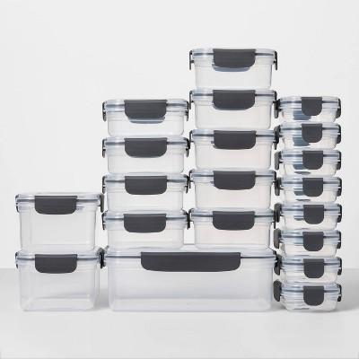40pc Plastic Food Storage Set - Made By Design™
