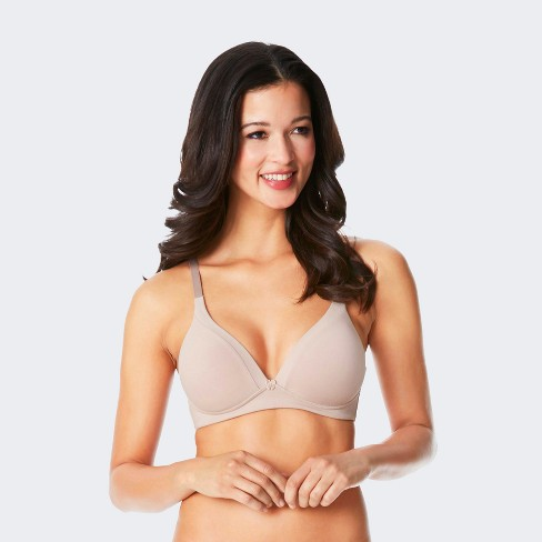 1ee35b75b2 Simply Perfect by Warner s® Women s Cotton Back Smoothing Wire-Free Bra  RM0151T