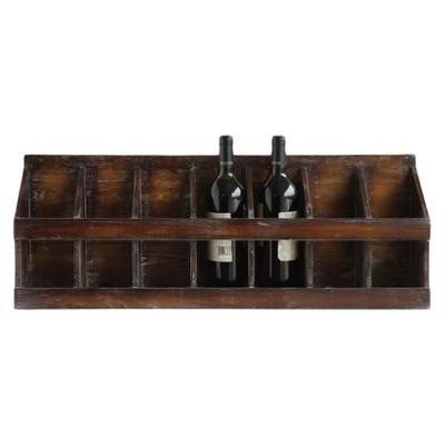 Fir Wood Wine Holder - 3R Studios