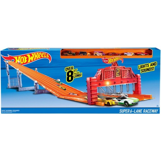 Hot Wheels Super 6-Lane Raceway image number null