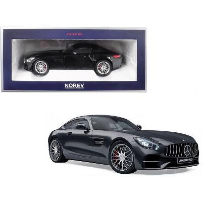 2018 Mercedes Benz AMG GT S Metallic Black 1/18 Diecast Model Car by Norev