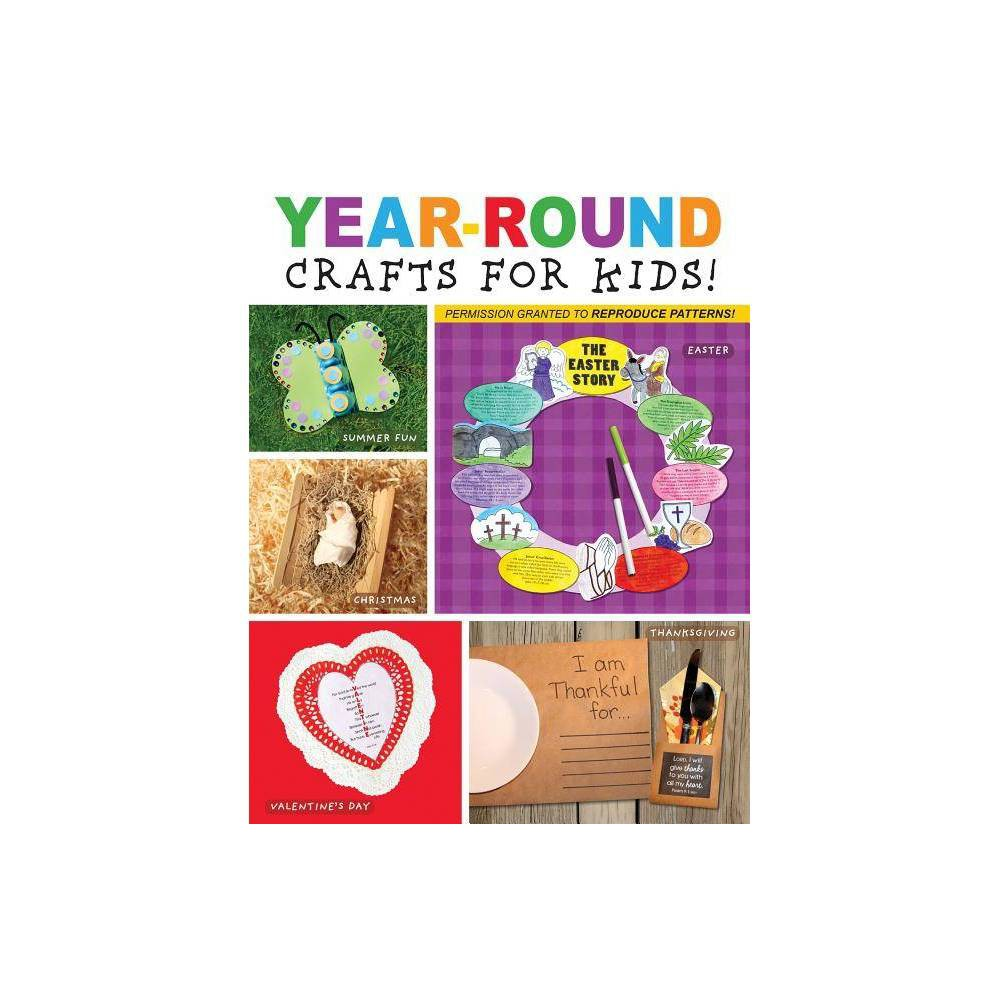 Year-Round Crafts for Kids - (Im Learning the Bible Activity Book) by Karen Mitzo Hilderbrand & Kim Mitzo Thompson (Paperback)