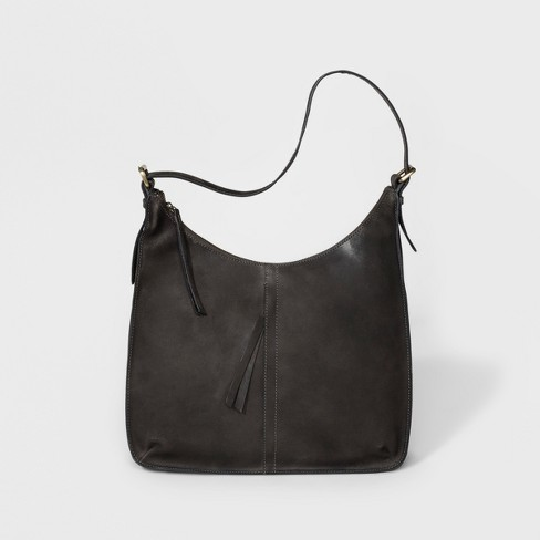 Bolo Antonio Hobo Handbag Charcoal