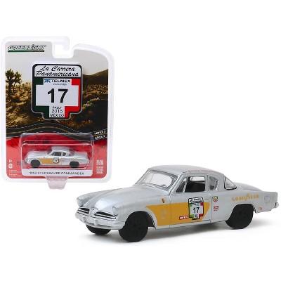 "1953 Studebaker Commander #17 ""Goodyear"" (Rally Mexico 2015) ""La Carrera Panamericana"" 1/64 Diecast Model Car Greenlight"