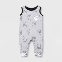 8afbc75ae Baby Boys' Bunny Sweater Romper - Cat & Jack™ Heather Gray : Target