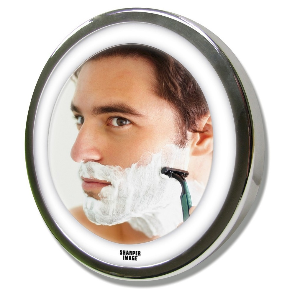 Image of Ginsey Sharper Image LED anti-fog Shower Mirror